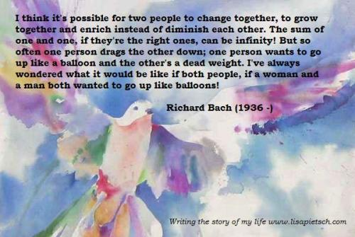richard bach, infinity, love